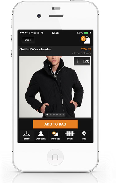 SuperDry iPhone App details